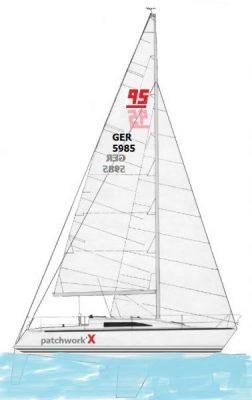 X-95_sailplan_water